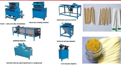 Yq Series Toothpick Producing Machine