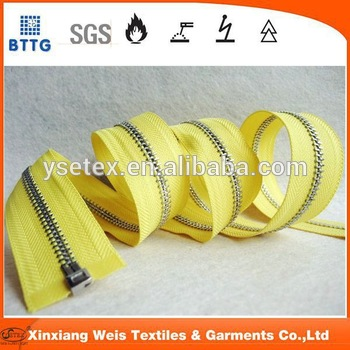 Ysetex En1149 Henan High Quality Fire Resistant Zipper For Clothing
