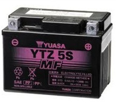 Yuasa Battery Maintenance Free Ytz5s