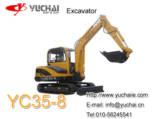 Yuchai Yc35 8 3 5 Ton Excavator