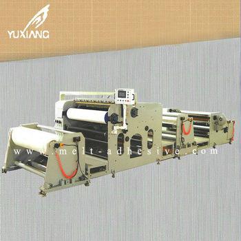 Yx 516 Hot Melt Laminating Machine Controlled By Servo Motor