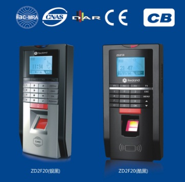 Zd2f20 Fingerprint Access Control Time Attendace Terminal