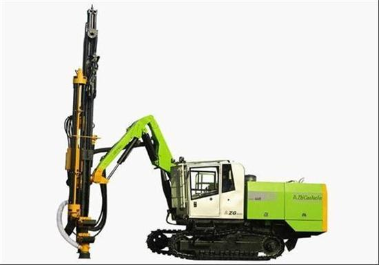 Zgyx 660 Open Air Hydraulic Drill Rig Tophammer