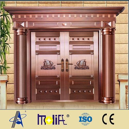 Zhejiang Afol Unique Home Designs Security Copper Doors