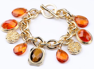 Zinc Alloy Woman S Bracelet Charms Cuff