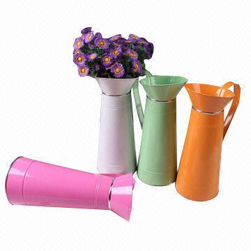 Zinc Flower Basket Iron Garden Pot