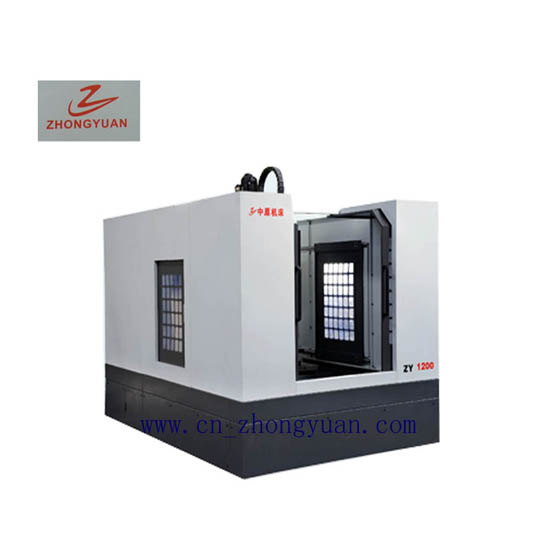 Zy 1200 Cnc Engraving And Milling Machine Factory Direct Sales