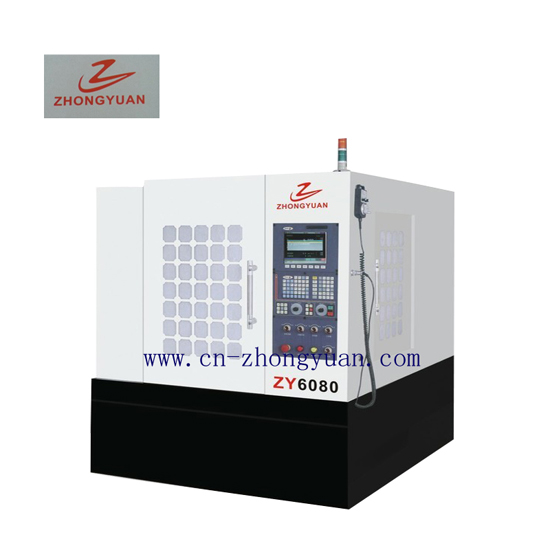 Zy 6080 Cnc Engraving And Milling Machine Heavy Type Factory Direct Sales Double Column Vertical Mac