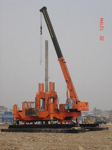 Zyc500b Hydraulic Static Pile Driver