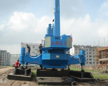 Zys Static Hydraulic Pile Driver