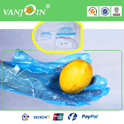 0 4g 1 5g Transparent Disposable Food Glove