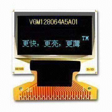 0 96 Inch Oled Display Module 128x64 Yellow Blue