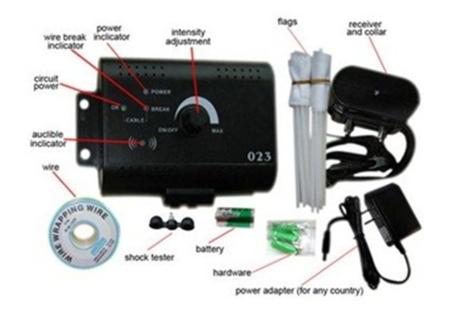 023 Wholesale 15 9 Pcs Hidden Pet Fence Training Collar Dog Systems Smart