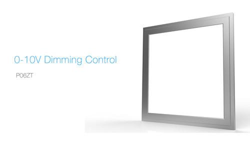 1 10v Dimmable Led Panel Light Input Ac100 277v 50 60hz