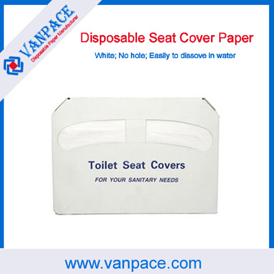 1 2 Fold Toilet Paper Disposable Seat Cover For Hotel Hospital Home Travel