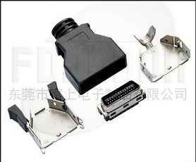 1 27mm Scsi 26pin Cn Type Connector