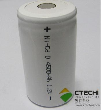 1 2v Ni Cd D4500 Rechargeable Battery