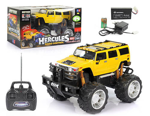 1 8 Big Wheel Rc Car Hummer With Light