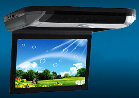 10 1 Super Slim Car Flip Down Dvd Monitor