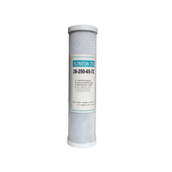 10 Inch Activated Carbon Block Filter Cartridge Cto
