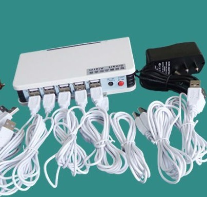 10 Port Security Alarm Host Sensor For Mobile Phone Display Remote Control