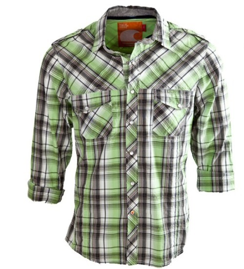 100 Cotton Casual Shirt In Checks Stylish Pattern