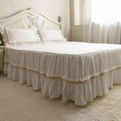 100 Cotton Plain Bed Covers