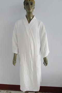 100 Cotton Waffle Kimono Bathrobe