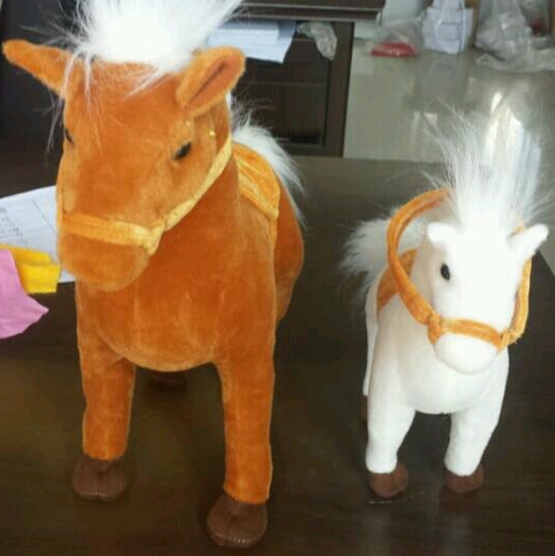 100 High Quality Pp Cotton Cuteplush Horse