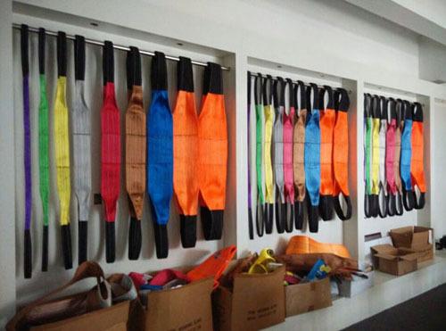100 High Tenacity Polyester Flat Webbing Sling