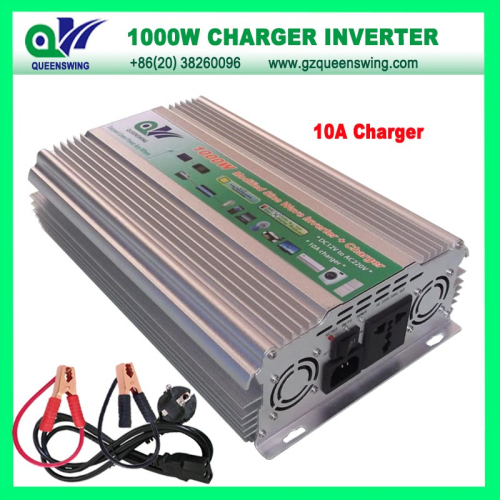 1000w Modified Sine Wave Power Inverter With 10a Charger