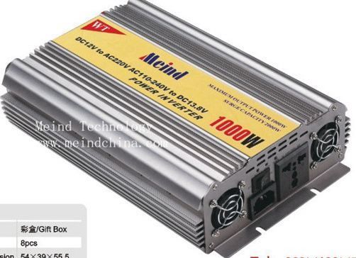 1000w Power Inverter With Charger Ac Converter Car Inverters Supply Watt