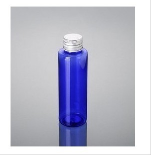 100ml Semi Blue Pet Bottle With Cap