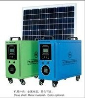 100w Utility Type Home Solar Generator 3hz H100 With High Conversion Effici