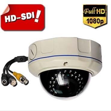 1080p Hd Sdi 2 8 12mm Varifocal Ir Wdr Vandalproof Cctv Security Dome Camer
