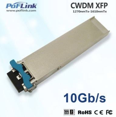 10g Base Cwdm Xfp 80km Optical Transceiver