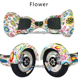 10inch High Qaulity Flower Hoverboard Electric Skateboard