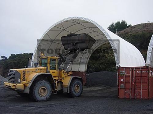 10m Wide Container Tent For 20 40 Tc3320c Tc3340c