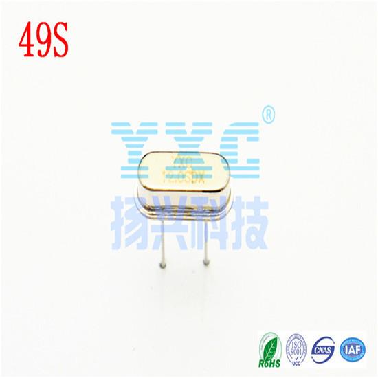 10mhz 49s Dip 20pf 20ppm Passive Quartz Crystal Resonator
