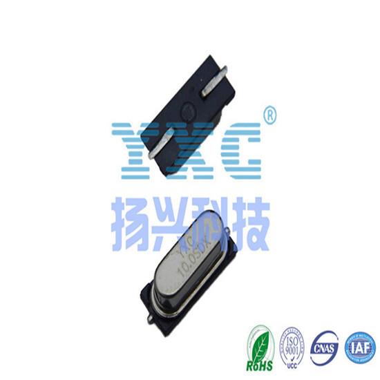 10mhz 49s Smd 20pf 20ppm Passive Quartz Crystal Resonator