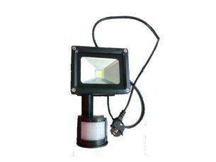 10w Pir Motion Sensor Led Flood Lights Lamp