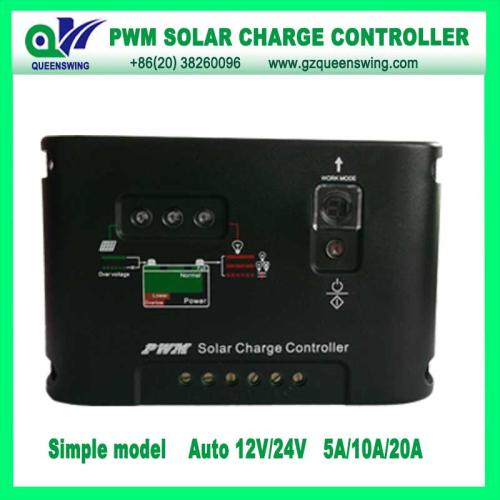 12 24v 20a Led Digital Display Pwm Solar Charge Controller
