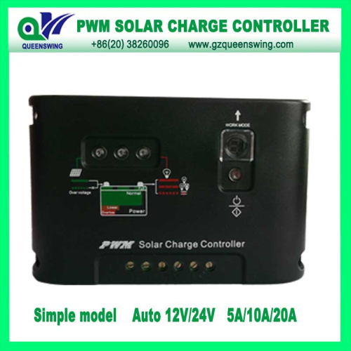 12 24v 5a Led Digital Display Pwm Solar Charge Controller