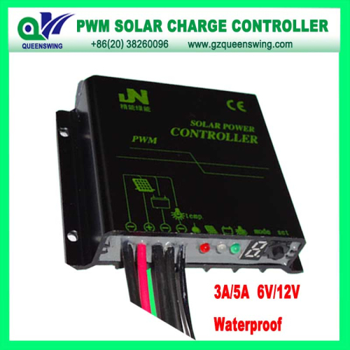 12 24v Waterproof Auto 10a Pwm Solar Charge Controller