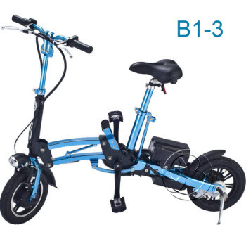 12 Inch Ce Approved Mini Foldable Electric Bike