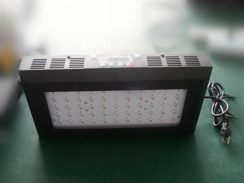 120w Dimmable Led Aquarium Light Lens Coral Reef Lcd Timer 3 Watt Leds Wth