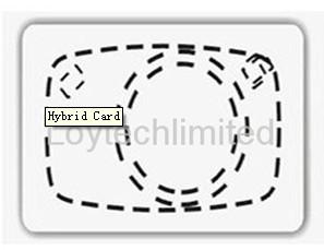 125 Khz 13 56 Mhz Hybrid Card