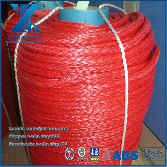12mm Synthetic Winch Rope Used For 4wd Warn Jeep