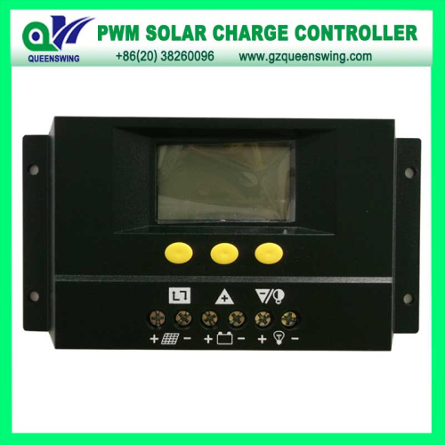12v 24v 30a Solar Charge Controller With Lcd Display