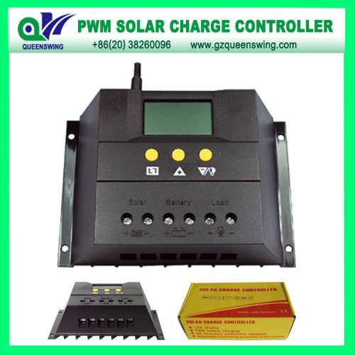 12v 24v 60a Solar Charge Controller With Lcd Display